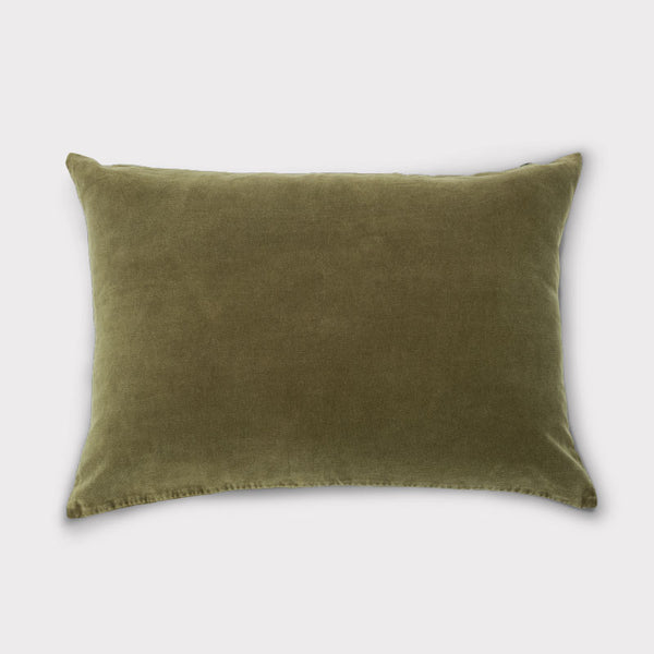 Cushion Vintage Velvet - Fir Green - Urban Nature Culture