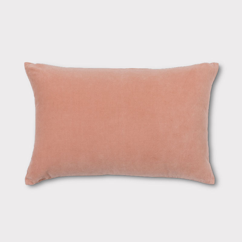 Cushion Vintage Velvet - Cameo Brown - Urban Nature Culture