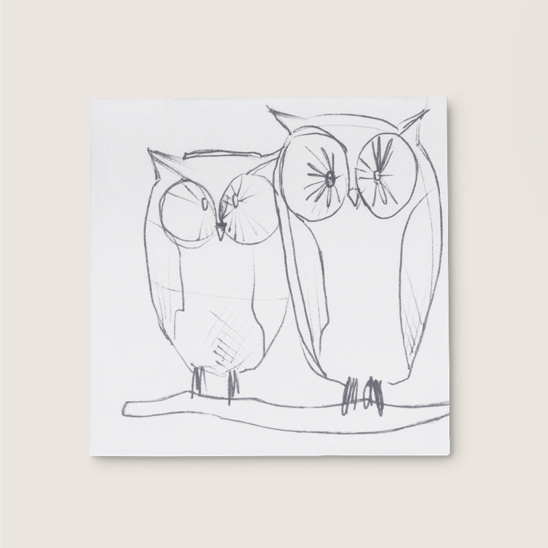 Napkin Owl - Urban Nature Culture