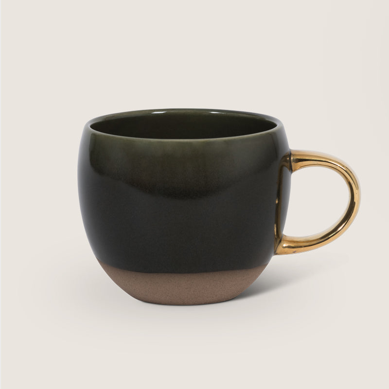 Mug Reactive Glaze - Green - Urban Nature Culture