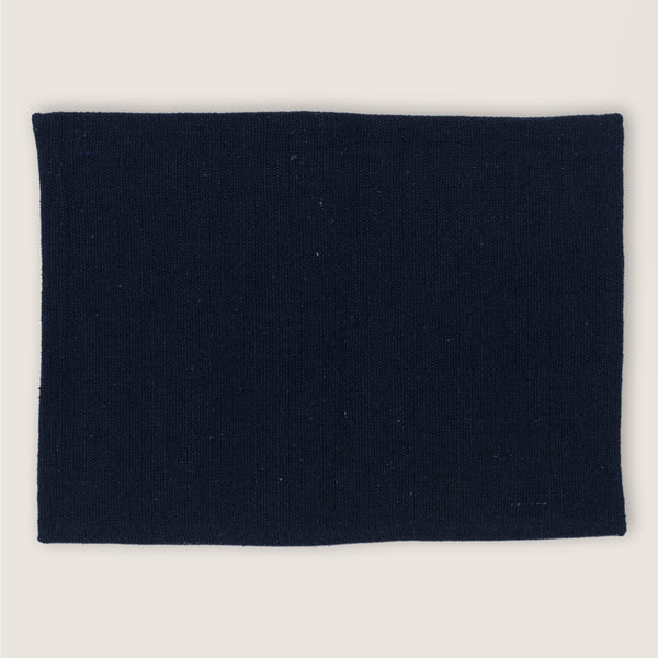 Placemat Recycled Cotton Legion Blue - Urban Nature Culture