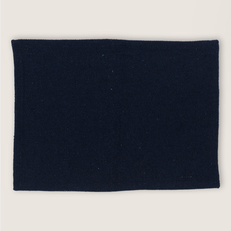 Placemat Recycled Cotton - Legion Blue - Urban Nature Culture