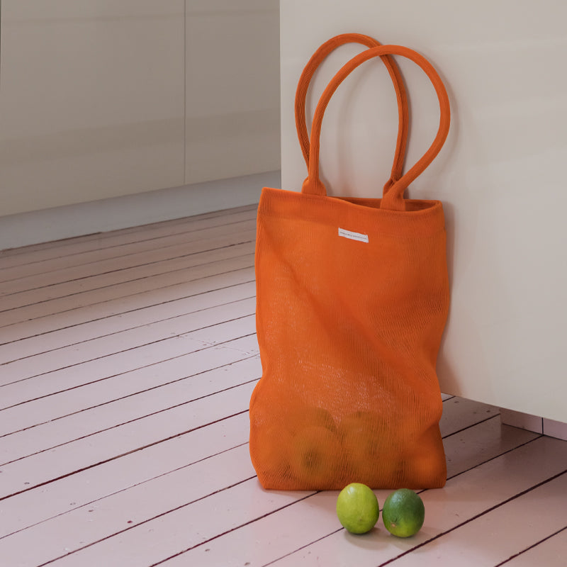 Shopper recycled plastic orange - Urban Nature Culture