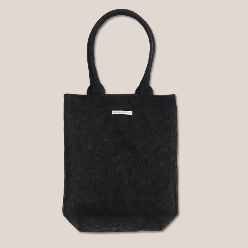 Shopper recycled plastic black - Urban Nature Culture
