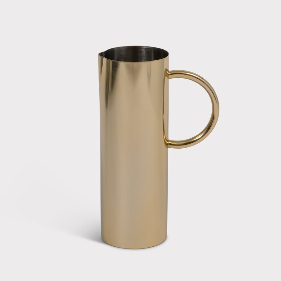 Urban Nature Culture jug Mangal, gold - Urban Nature Culture