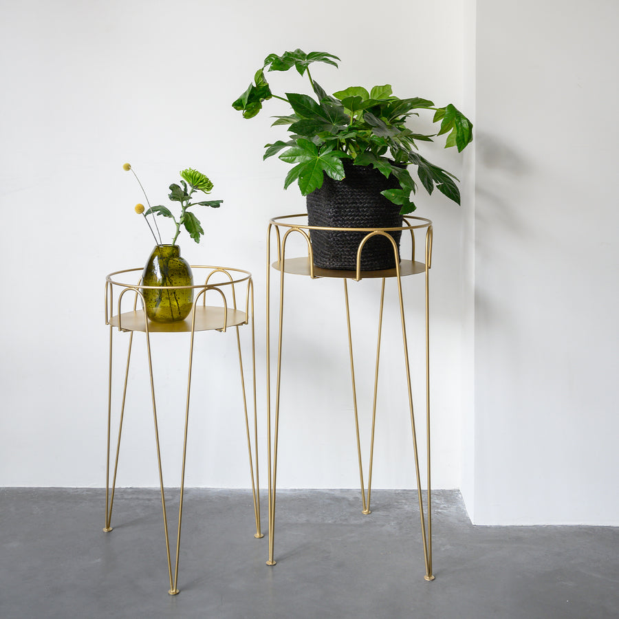 Plant table M, gold - Urban Nature Culture