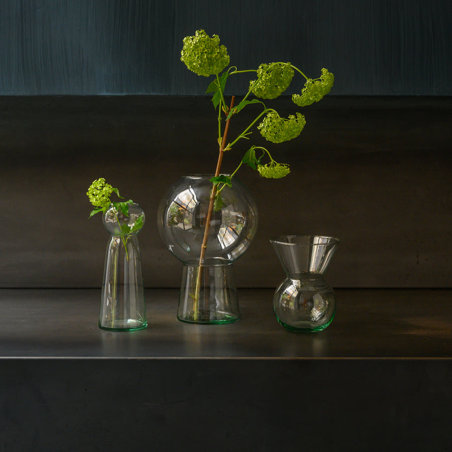 Flower vase recycled glass BY MIEKE CUPPEN M - Urban Nature Culture
