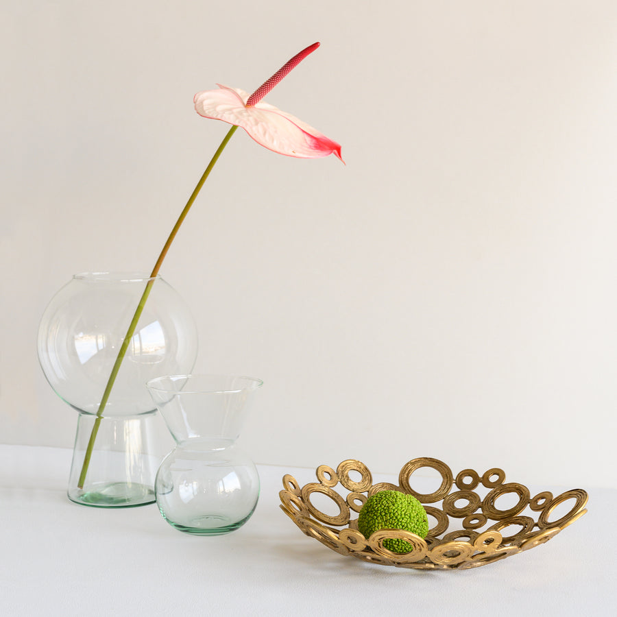 Flower vase recycled glass BY MIEKE CUPPEN L - Urban Nature Culture