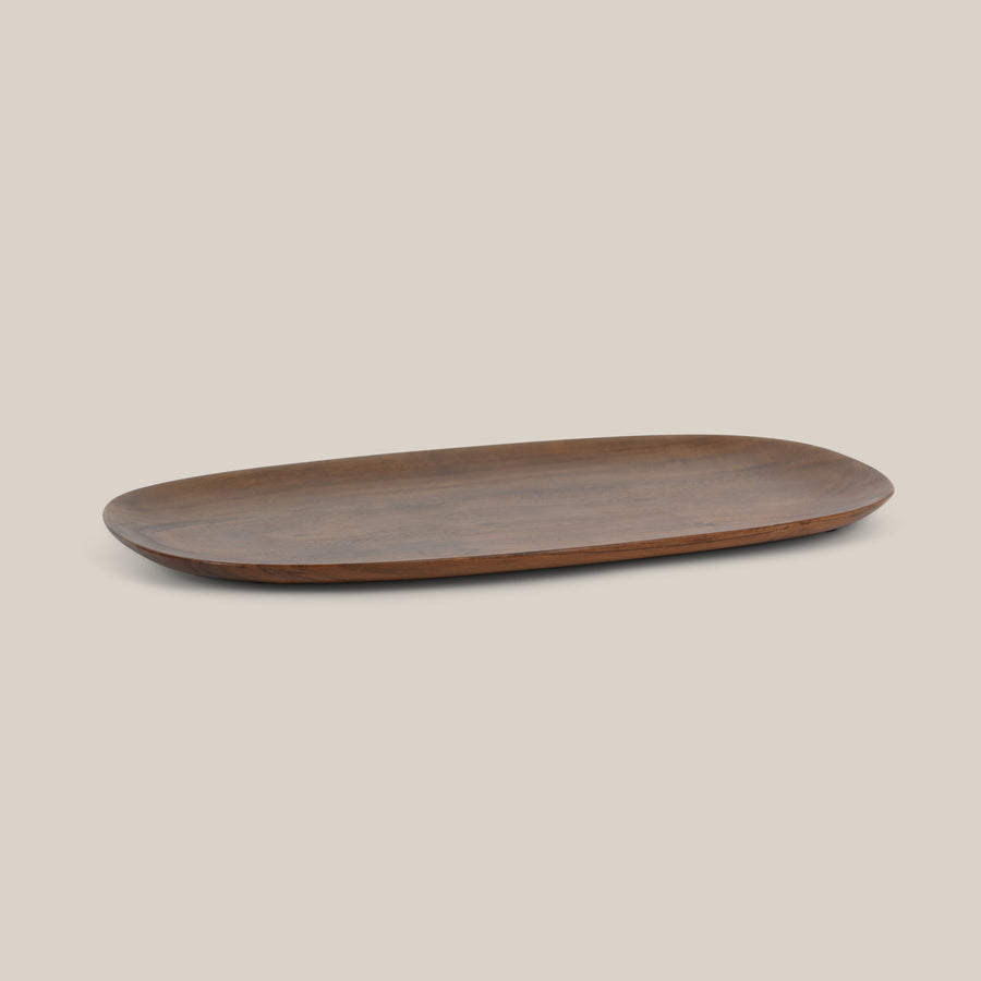 Plate oval acacia - Urban Nature Culture