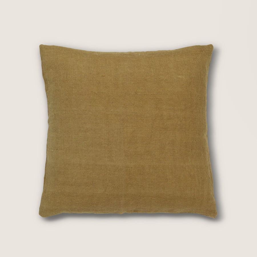 Cushion washed jute, wood rush - Urban Nature Culture