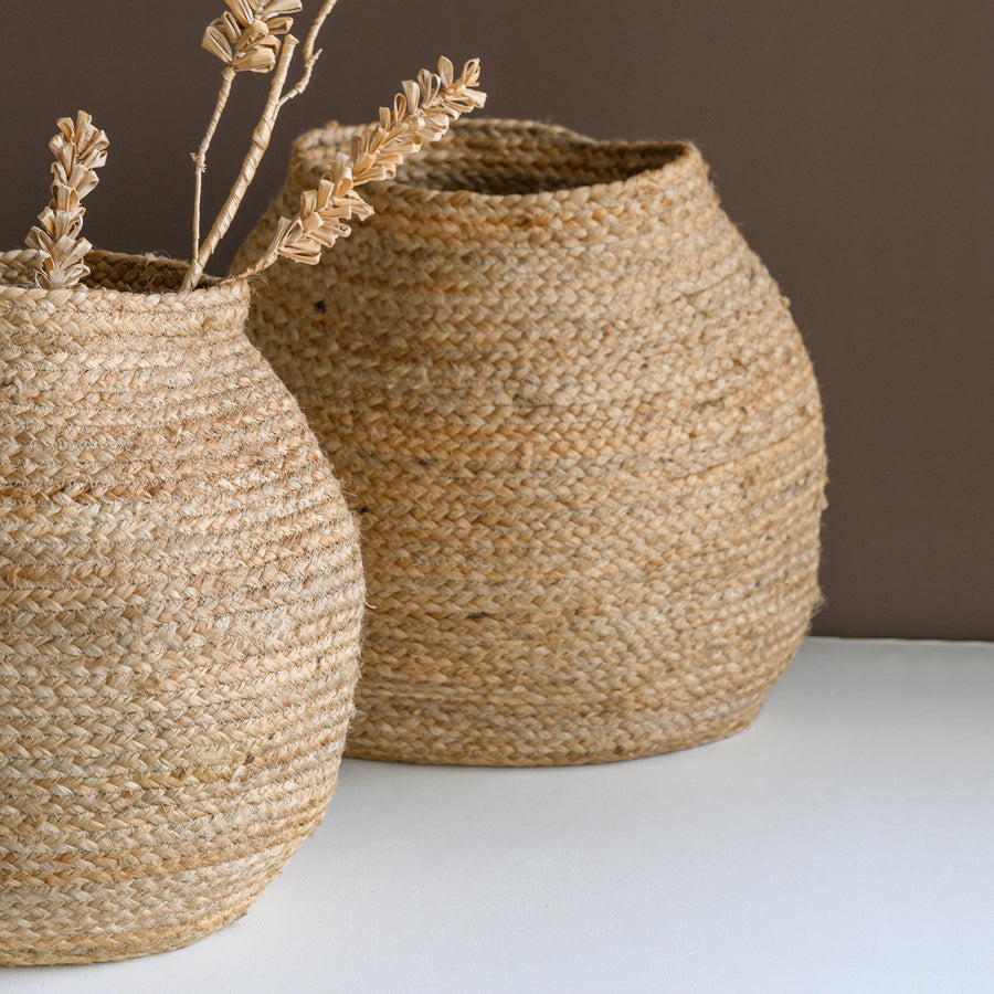 Storage basket jute Round Natural - Urban Nature Culture