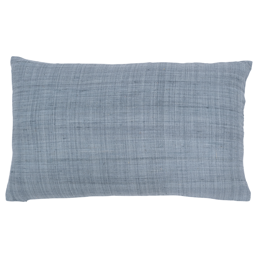 Cushion eri silk, chinoise green