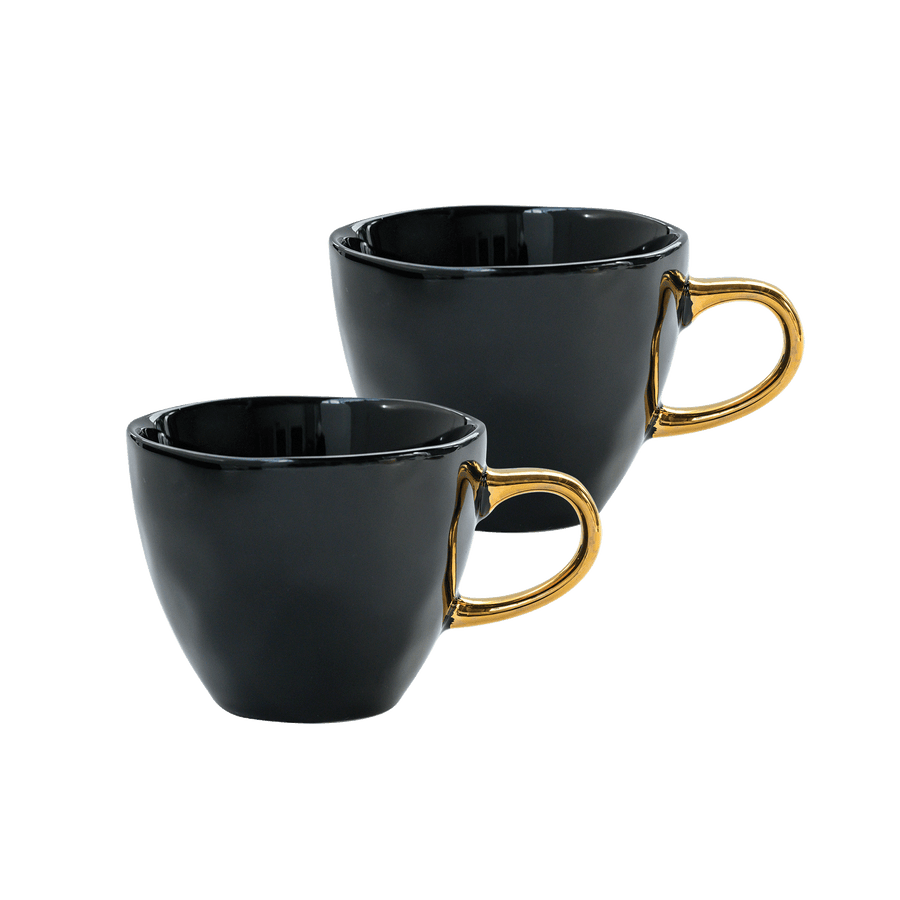 Good Morning Cup Mini s/2 in giftpack, black