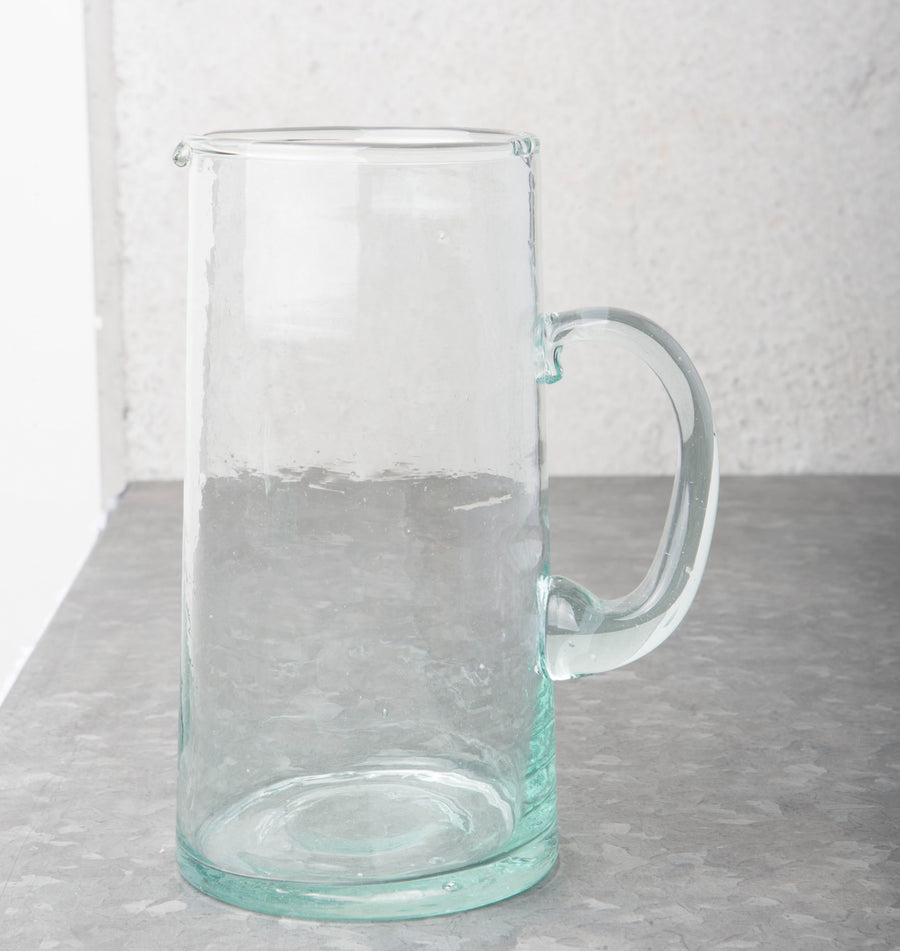 Recycled Handmade Glass - Carafe (1050 ml) - Urban Nature Culture