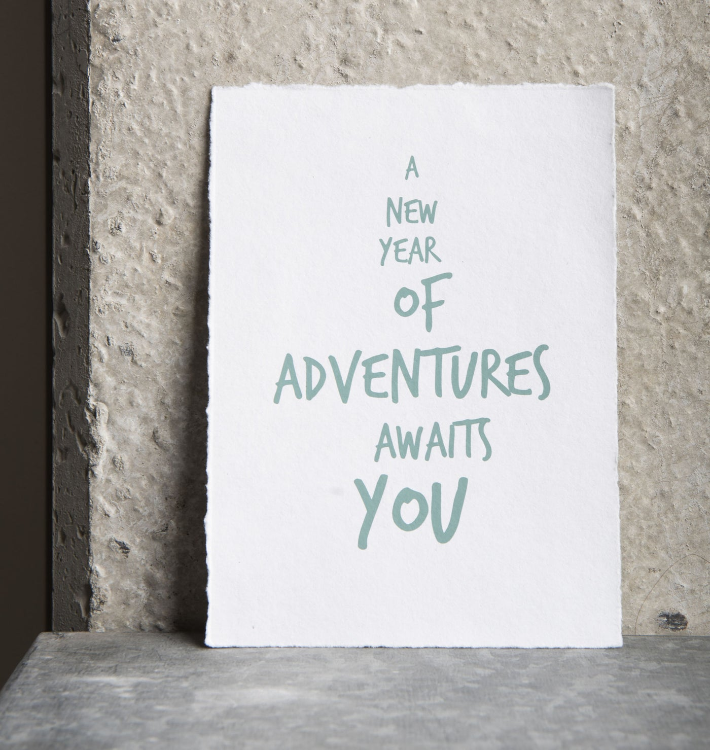 wish cards with envelope adventures recycled cotton paper