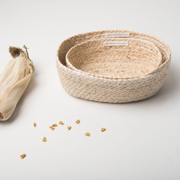 Baskets Corn - Set Of 2 - Urban Nature Culture