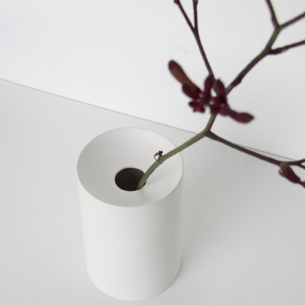Urban Matt White Vase - Urban Nature Culture