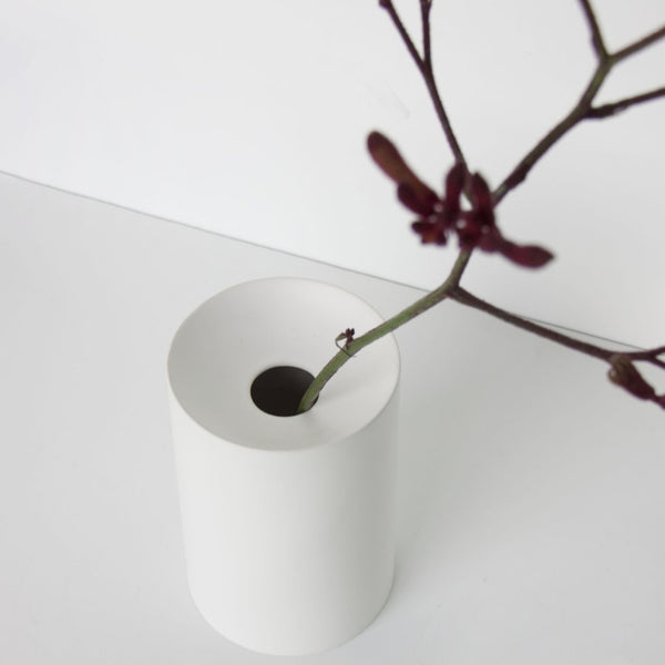 Vase Urban Matt White porcelain