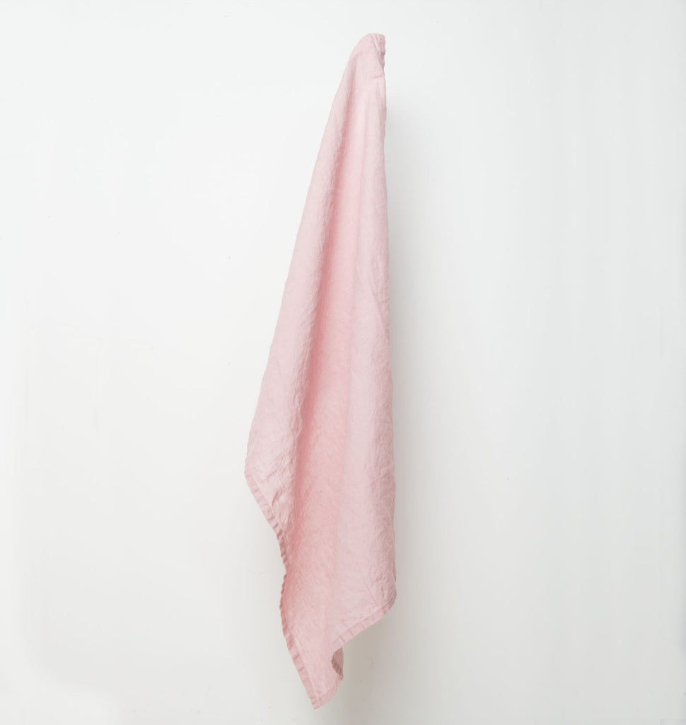 Teatowel Linen - Old Pink - Urban Nature Culture