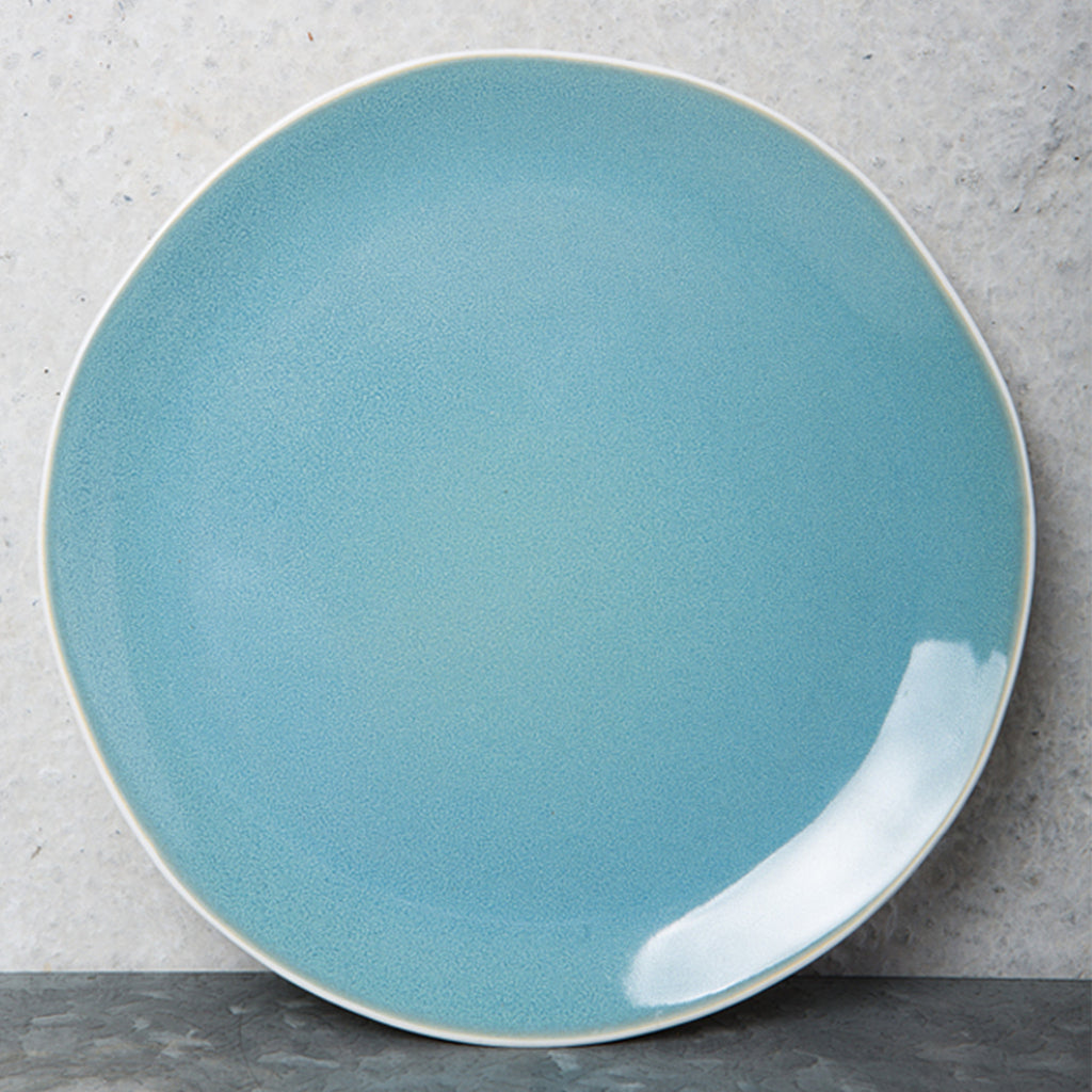 Urban Nomad Ocean Blue Breakfast Plate - Urban Nature Culture