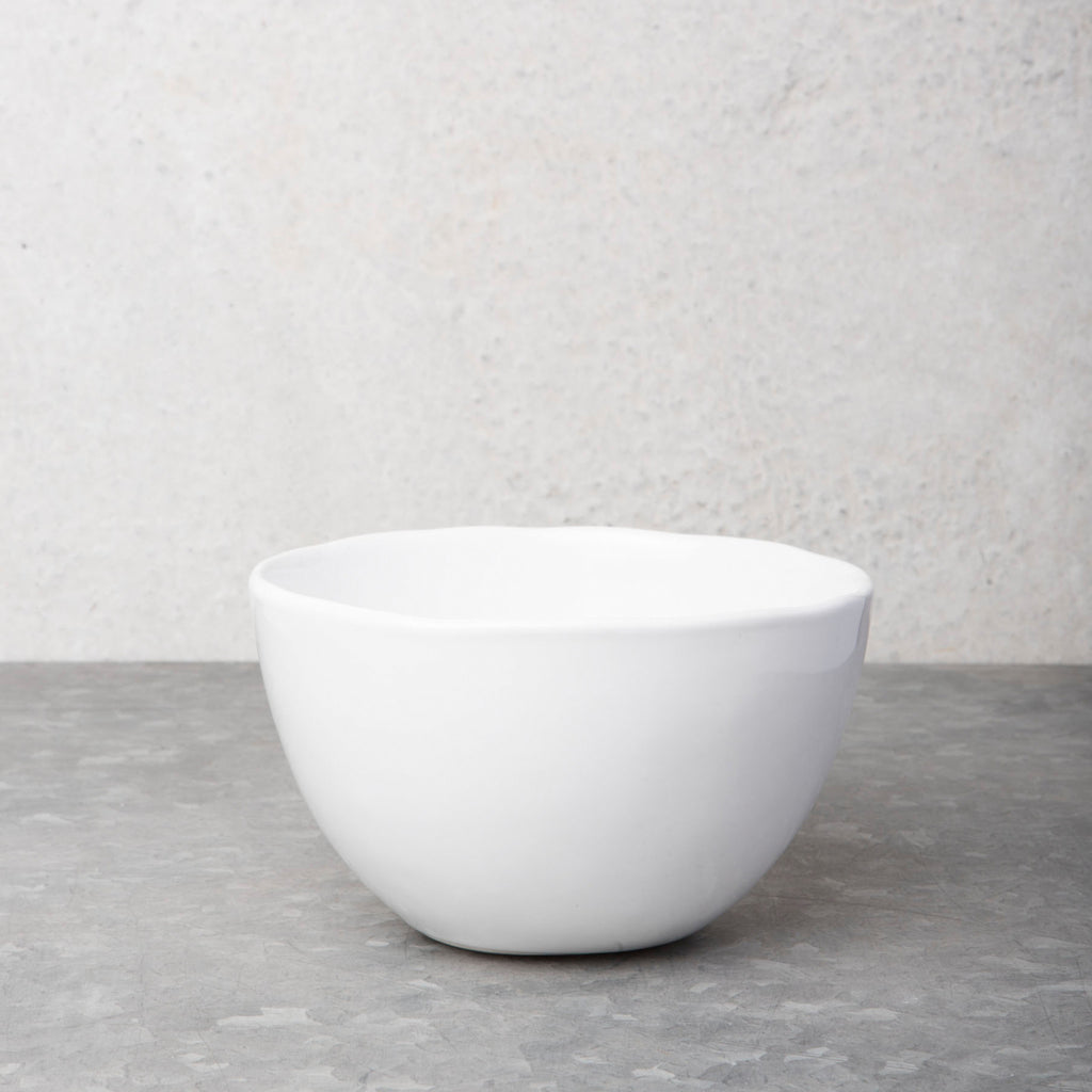 urban nomad bowl white ceramic