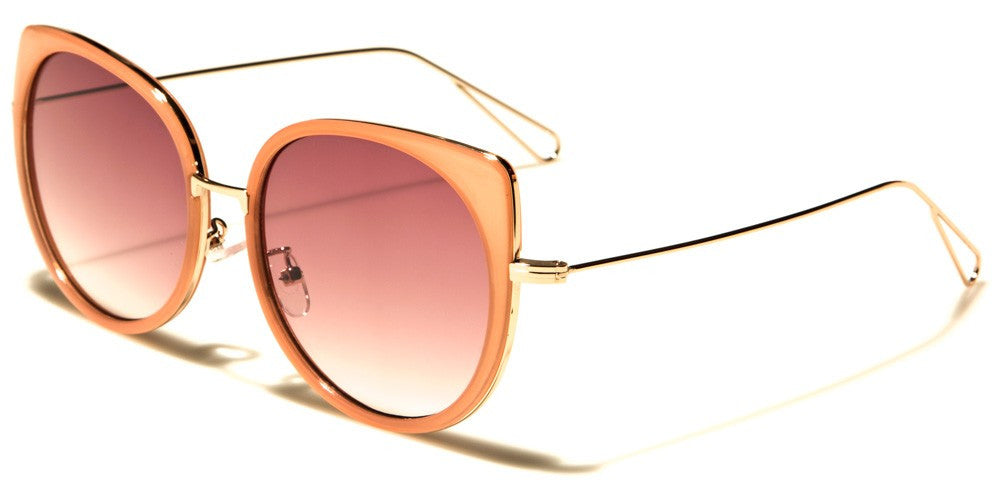 oversized classic pink sunglasses