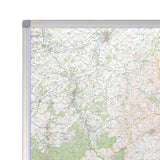 Northumberland - UK National Park Wall Map