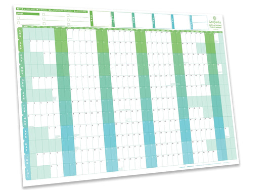 2020 /2021 Academic Year Planner - Green - 1