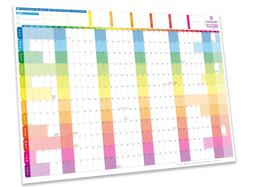 2020 /2021 Academic Year Planner - Rainbow - 1