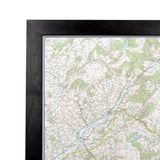 Brecon Beacons - UK National Park Wall Map