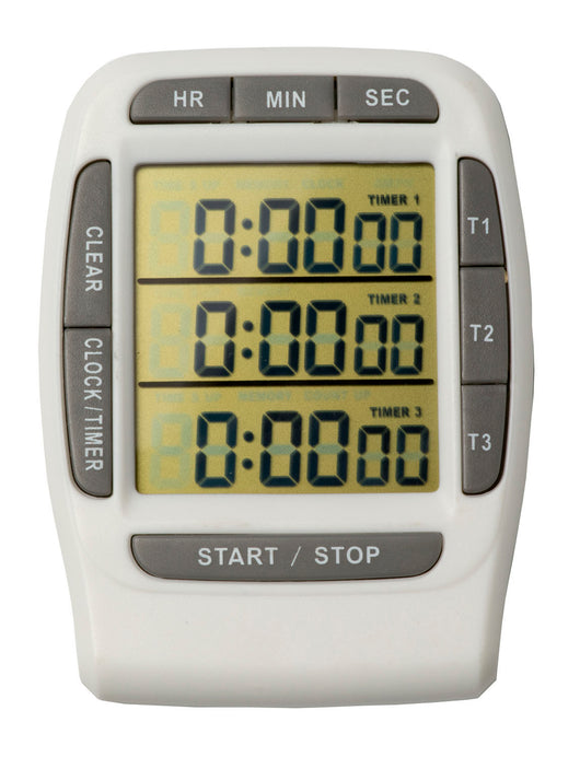 Triple Channel Bench Timer