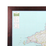 Pembrokeshire - UK National Park Wall Map