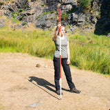 Fieldwork Equipment - Six Steel Ranging Poles - Extremely Robust-3