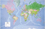 Children's Giant World Map