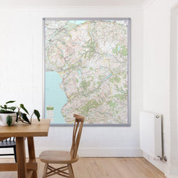 Snowdonia - UK National Park Wall Map