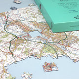 Classroom Resources - Customised Map Jigsaw Puzzle - Centred On Your School
