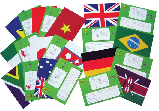Classroom Resources - Flags And Facts Cards