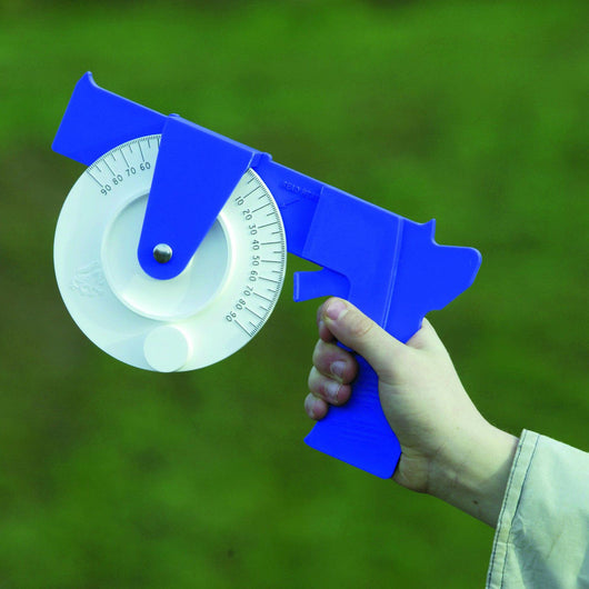 Clinometer - for measuring the angle of elevation
