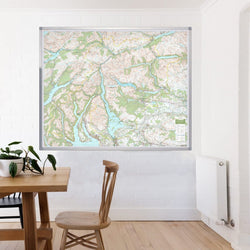 Loch Lomond & Trossachs - UK National Park Wall Map