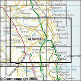 Maps - Alnwick Amble Craster Explorer Map - Ordnance Survey
