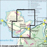 Maps - Anglesey East Explorer Map - Ordnance Survey