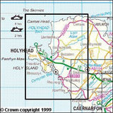Maps - Anglesey West Explorer Map - Ordnance Survey