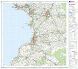 Maps - Ayr Kilmarnock Troon Landranger Map - Ordnance Survey