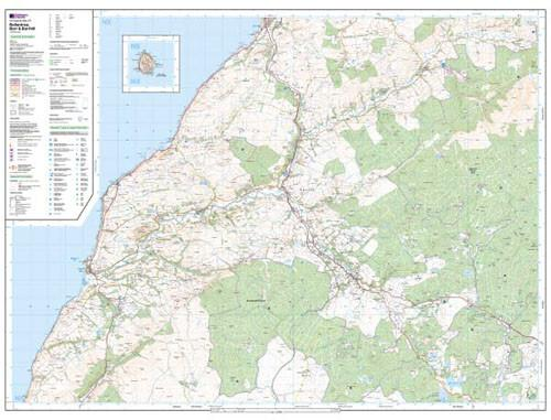 Maps - Ballantrae Barr Barrhill Explorer Map - Ordnance Survey