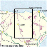 Maps - Banff Macduff Turriff Explorer Map - Ordnance Survey