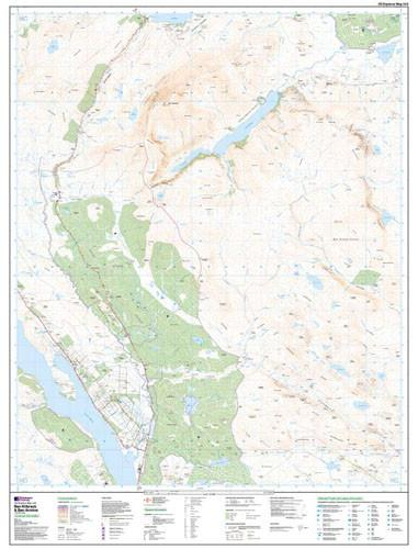 Maps - Ben Klibreck Ben Armine Explorer Map - Ordnance Survey