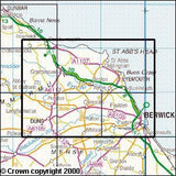 Maps - Berwick-upon-Tweed Explorer Map - Ordnance Survey
