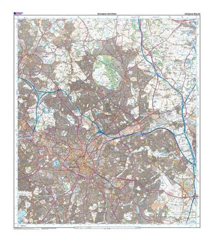 Maps - Birmingham Walsall Solihull Explorer Map - Ordnance Survey