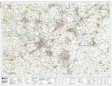 Maps - Bishop Auckland Explorer Map - Ordnance Survey