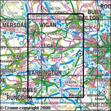 Maps - Bolton Wigan Warrington Explorer Map - Ordnance Survey